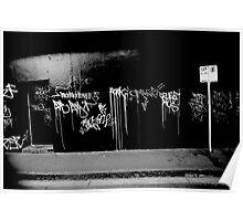 Graffitti, Melbourne Poster