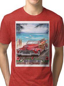 Blue Groper Bay Tri-blend T-Shirt