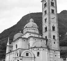 Basilica of the Madonna of Tirano by Ikramul Fasih