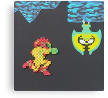 Metroid (Paints 'n' Beads) Canvas Print