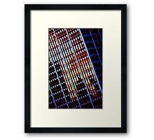 A Modern Sunset Framed Print