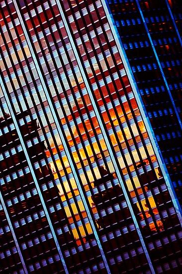 A Modern Sunset by David Haviland