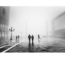 Fog In San Marco, Venice, Italy (2011) Photographic Print