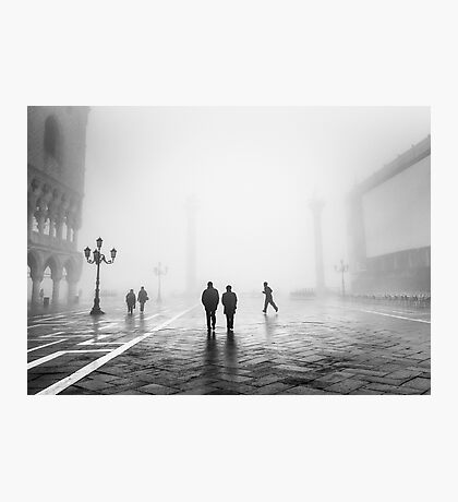 Venetian Fog, Venice, Italy Photographic Print