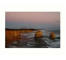 Twilight Twelve Apostles,Great Ocean Rd Art Print