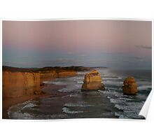 Twilight Twelve Apostles,Great Ocean Rd Poster