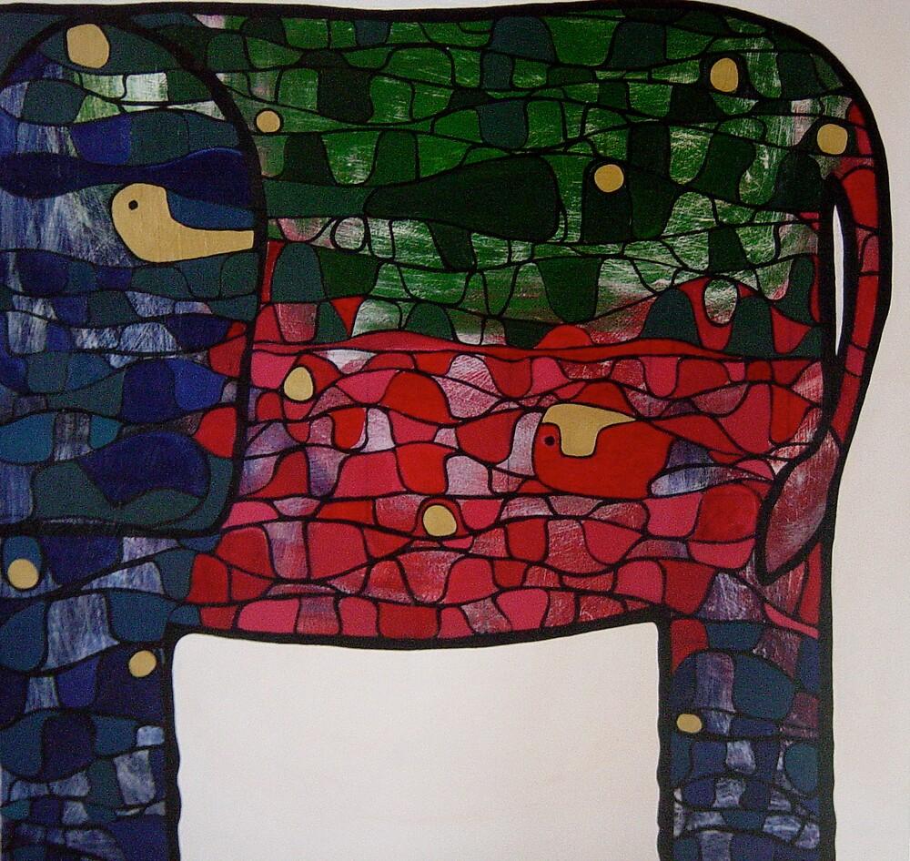 Elephant by Eva Fritz
