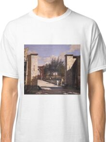 Christen Kobke - The North Gate Of The Citadel 1834 Classic T-Shirt