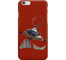 Mil Helicopter Wing Warp T-shirt Design iPhone Case/Skin