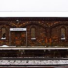 Snowy Winter at Wellingborough Station by Samuel Rollings