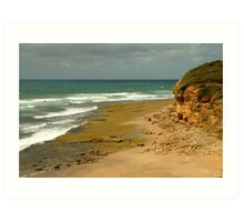 Foreshore Bells Beach,Great Ocaen Road Art Print