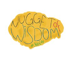 Selfie ABC - Nugget Of Wisdom. by Paige Defelice