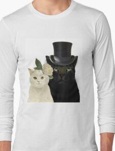 Charming Cats Wedding Long Sleeve T-Shirt