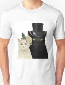 Charming Cats Wedding T-Shirt