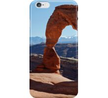 Delicate Arch at Arches National Park iPhone Case/Skin