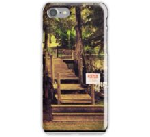 """""""Posted"""" iPhone Case/Skin"""
