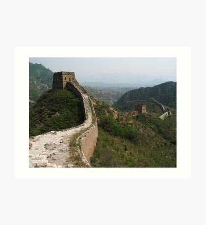 The Great Wall #2 Art Print