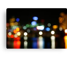 Colours of Night Canvas Print