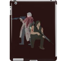Carol Peletier and Daryl Dixon (Version 1) - The Walking Dead  iPad Case/Skin