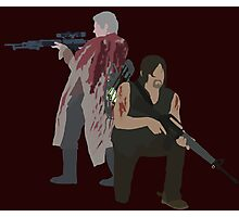 Carol Peletier and Daryl Dixon (Version 1) - The Walking Dead  Photographic Print