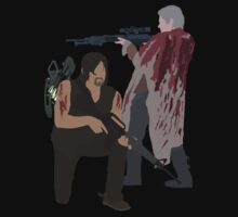 Carol Peletier and Daryl Dixon (Version 2) - The Walking Dead by mashuma3130