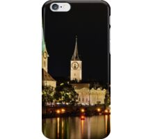 Zurich at Night iPhone Case/Skin