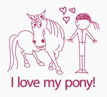 I love my pony! © iwantapony by Andrew Wilson
