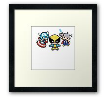 CWT Heroes Framed Print