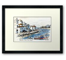 Ferragudo, Praia da Rocha, Portugal Framed Print
