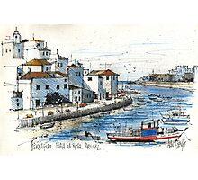 Ferragudo, Praia da Rocha, Portugal Photographic Print