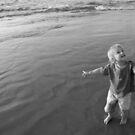 Black and white sea by Carole Felmy