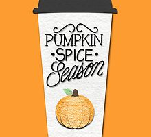 Pumpkin Spice Season by BovaArt