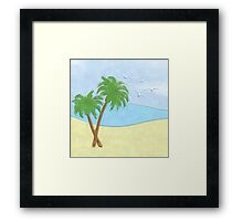 Peace of the Sea Print Framed Print