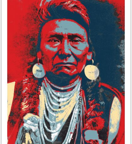 Chief Joseph Sticker
