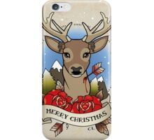 Christmas Stag iPhone Case/Skin