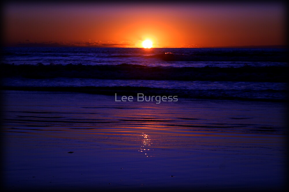 Let the waves roll in... by Lee Burgess