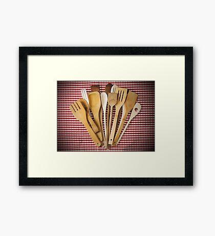 Kitchen utensil  Framed Print