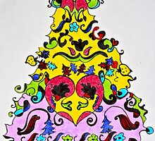 Christmas in colors #4 by Sabine Jacobsen [SJArt]