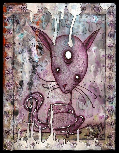Alien Kitty by Justin Aerni
