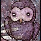 Spooky Owl by Justin Aerni