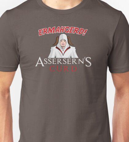 ERMAHGERD! Assersern's Curd Unisex T-Shirt
