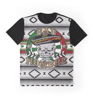 Bad Hombre Darts Shirt Full Color