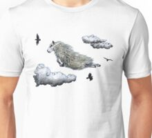 Flying sheep Unisex T-Shirt
