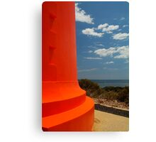 Red Lighthouse Carpenter Rocks S.A. Canvas Print