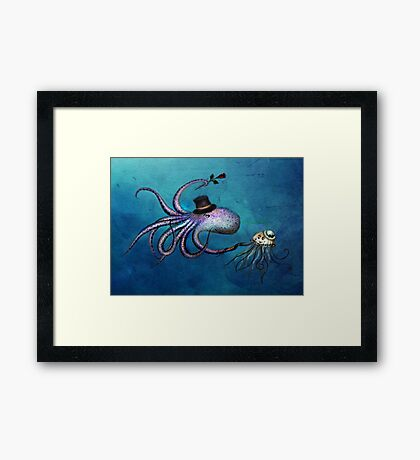 Underwater Love Framed Print