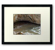 Tidal forces Framed Print