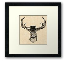 Mr Deer Framed Print