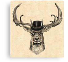 Mr Deer Canvas Print