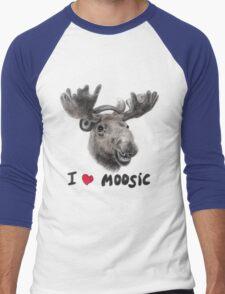 I love Music! Men's Baseball ¾ T-Shirt
