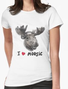 I love Music! Womens Fitted T-Shirt
